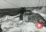 Image of German submarine on patrol Atlantic Ocean, 1942, second 18 stock footage video 65675062714