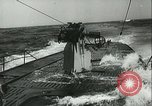 Image of German submarine on patrol Atlantic Ocean, 1942, second 19 stock footage video 65675062714