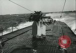 Image of German submarine on patrol Atlantic Ocean, 1942, second 20 stock footage video 65675062714