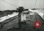 Image of German submarine on patrol Atlantic Ocean, 1942, second 23 stock footage video 65675062714