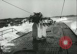 Image of German submarine on patrol Atlantic Ocean, 1942, second 24 stock footage video 65675062714