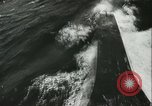 Image of German submarine on patrol Atlantic Ocean, 1942, second 30 stock footage video 65675062714