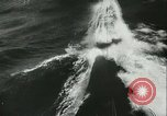 Image of German submarine on patrol Atlantic Ocean, 1942, second 31 stock footage video 65675062714