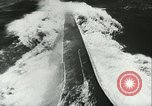 Image of German submarine on patrol Atlantic Ocean, 1942, second 33 stock footage video 65675062714