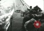 Image of German submarine on patrol Atlantic Ocean, 1942, second 42 stock footage video 65675062714