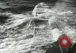 Image of German submarine on patrol Atlantic Ocean, 1942, second 58 stock footage video 65675062714