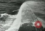 Image of German submarine on patrol Atlantic Ocean, 1942, second 60 stock footage video 65675062714