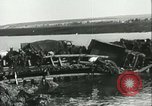 Image of German soldiers at the River Don Russia, 1942, second 41 stock footage video 65675062716