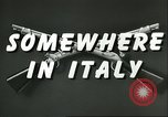 Image of United States troops Italy, 1944, second 6 stock footage video 65675062728