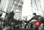 Image of Merchant Marine tall sailing clipper ships United States USA, 1942, second 43 stock footage video 65675062734