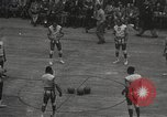 Image of basketball match New York United States USA, 1950, second 5 stock footage video 65675062747