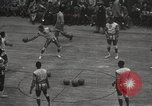 Image of basketball match New York United States USA, 1950, second 6 stock footage video 65675062747