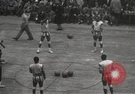 Image of basketball match New York United States USA, 1950, second 7 stock footage video 65675062747