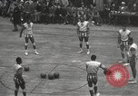 Image of basketball match New York United States USA, 1950, second 8 stock footage video 65675062747