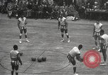 Image of basketball match New York United States USA, 1950, second 9 stock footage video 65675062747