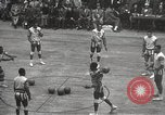 Image of basketball match New York United States USA, 1950, second 10 stock footage video 65675062747