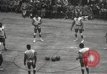 Image of basketball match New York United States USA, 1950, second 13 stock footage video 65675062747