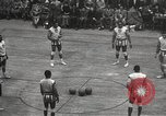 Image of basketball match New York United States USA, 1950, second 14 stock footage video 65675062747