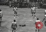 Image of basketball match New York United States USA, 1950, second 15 stock footage video 65675062747