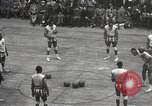 Image of basketball match New York United States USA, 1950, second 16 stock footage video 65675062747
