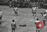 Image of basketball match New York United States USA, 1950, second 17 stock footage video 65675062747