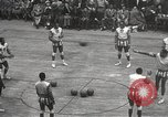 Image of basketball match New York United States USA, 1950, second 18 stock footage video 65675062747