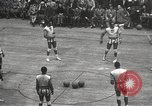 Image of basketball match New York United States USA, 1950, second 20 stock footage video 65675062747