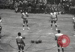 Image of basketball match New York United States USA, 1950, second 21 stock footage video 65675062747