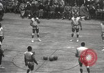 Image of basketball match New York United States USA, 1950, second 22 stock footage video 65675062747