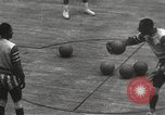 Image of basketball match New York United States USA, 1950, second 25 stock footage video 65675062747