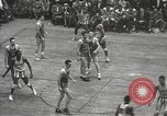 Image of basketball match New York United States USA, 1950, second 31 stock footage video 65675062747