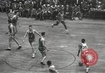 Image of basketball match New York United States USA, 1950, second 32 stock footage video 65675062747