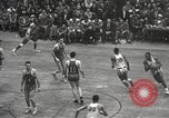 Image of basketball match New York United States USA, 1950, second 33 stock footage video 65675062747