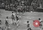Image of basketball match New York United States USA, 1950, second 34 stock footage video 65675062747