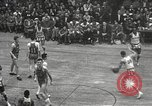 Image of basketball match New York United States USA, 1950, second 35 stock footage video 65675062747