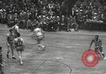 Image of basketball match New York United States USA, 1950, second 36 stock footage video 65675062747