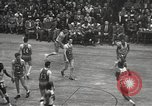 Image of basketball match New York United States USA, 1950, second 38 stock footage video 65675062747