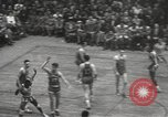 Image of basketball match New York United States USA, 1950, second 39 stock footage video 65675062747
