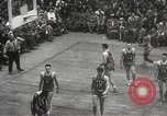 Image of basketball match New York United States USA, 1950, second 40 stock footage video 65675062747