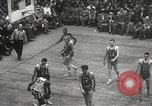 Image of basketball match New York United States USA, 1950, second 41 stock footage video 65675062747