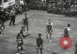 Image of basketball match New York United States USA, 1950, second 42 stock footage video 65675062747