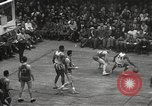 Image of basketball match New York United States USA, 1950, second 47 stock footage video 65675062747