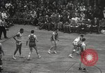 Image of basketball match New York United States USA, 1950, second 48 stock footage video 65675062747