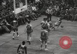 Image of basketball match New York United States USA, 1950, second 50 stock footage video 65675062747
