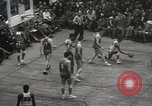 Image of basketball match New York United States USA, 1950, second 51 stock footage video 65675062747