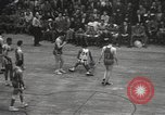 Image of basketball match New York United States USA, 1950, second 52 stock footage video 65675062747