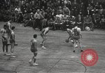 Image of basketball match New York United States USA, 1950, second 53 stock footage video 65675062747