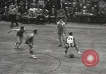Image of basketball match New York United States USA, 1950, second 55 stock footage video 65675062747