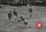 Image of basketball match New York United States USA, 1950, second 56 stock footage video 65675062747