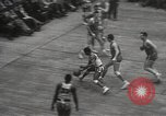 Image of basketball match New York United States USA, 1950, second 57 stock footage video 65675062747